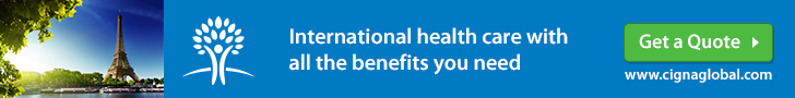 CIGNA Expat Health Insurance France