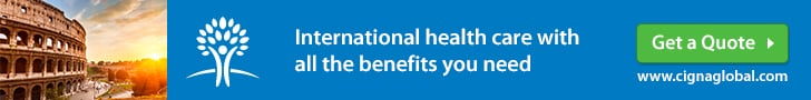 CIGNA Expat Health Insurance Italy