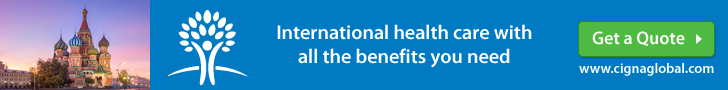 CIGNA Expat Health Insurance Moscow