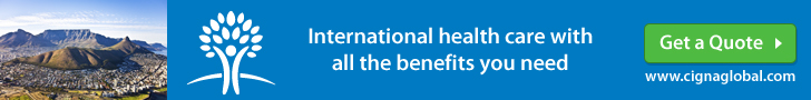 CIGNA Expat Health Insurance South Africa