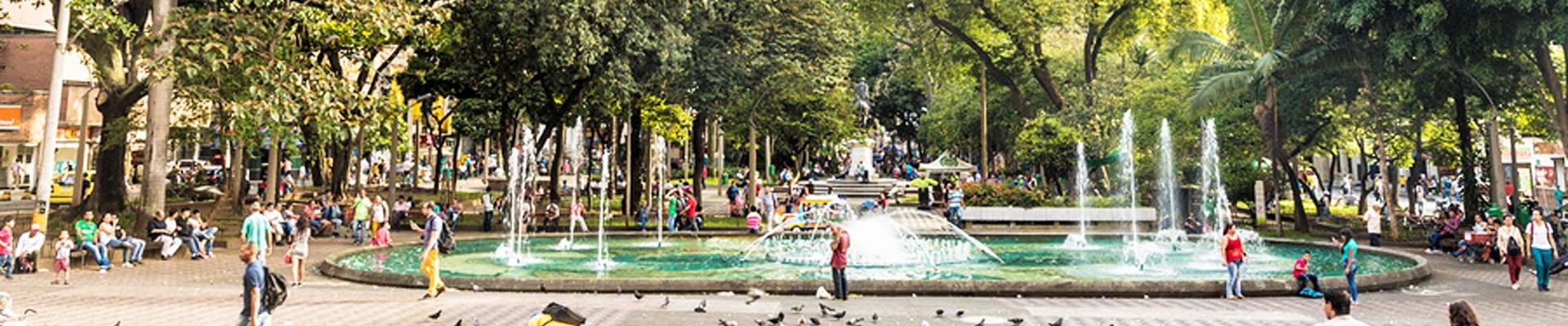 Plaza Bolivar in Medellin