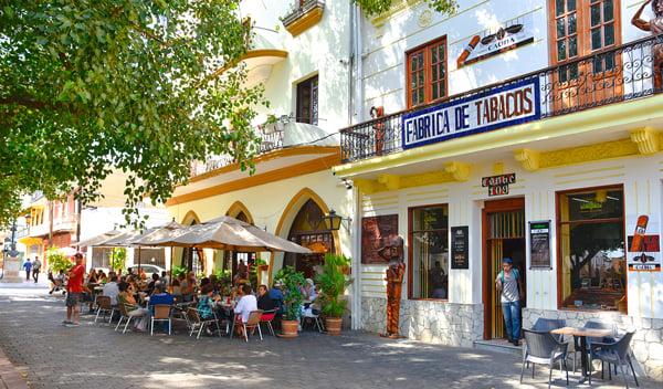Calle el Conde in Santo Domingo, Dominican Republic