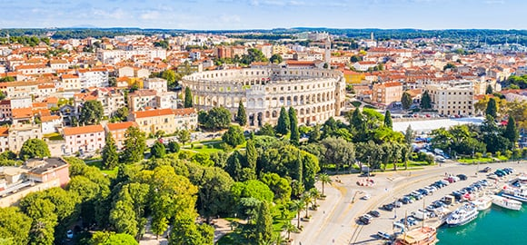 Living in Pula, Croatia
