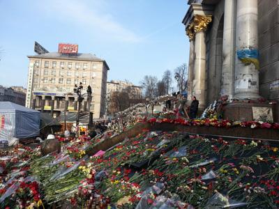 Ukraine Maidan Square Photos