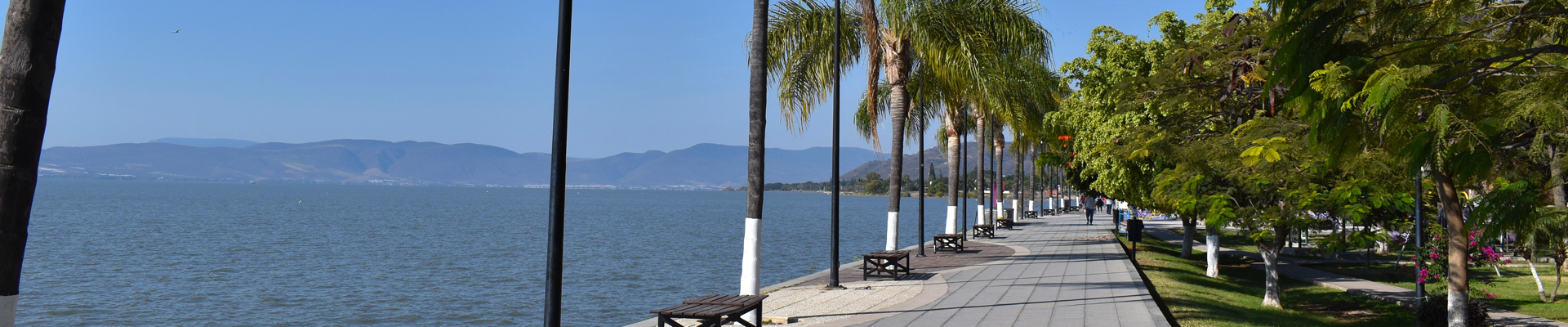 Ajijic Boardwalk, Lake Chapala
