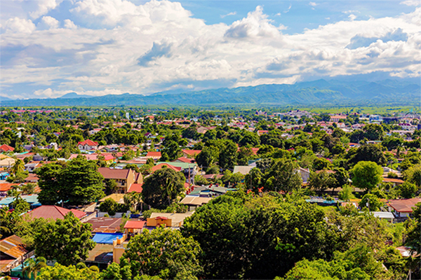 Clark Economic Zone in Angeles City, Philippines