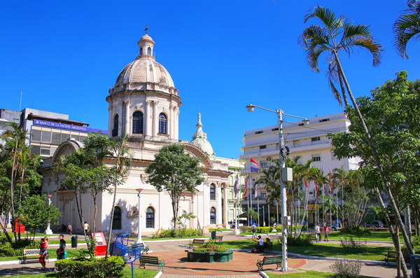 National Pantheon of the Heroes in Asuncion, Paraguay