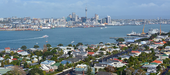 Living in Auckland, New Zealand