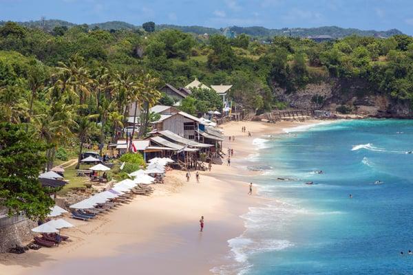 Balangan Beach in Bali, Indonesia