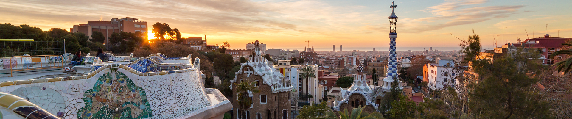 Barcelona's Iconic Park Guell