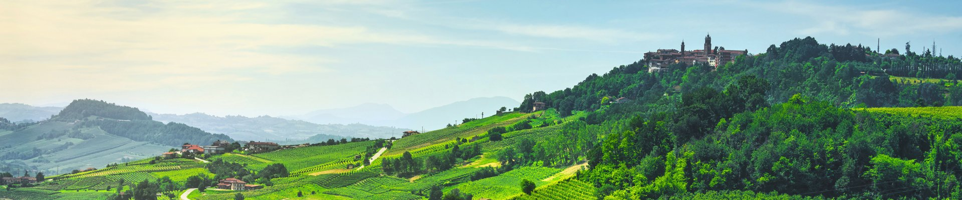 La Morra in the Piedmont Region of Italy