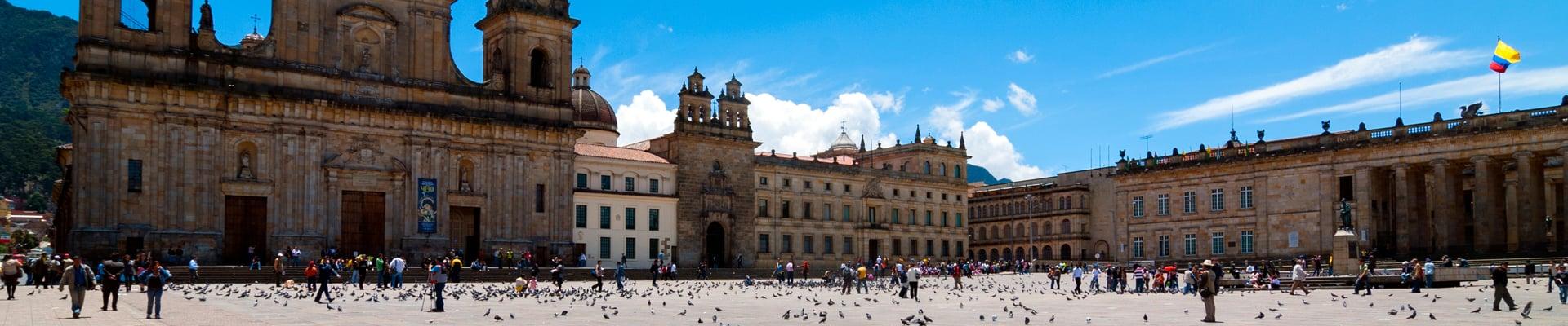 Plaza de Bolivar in Bogota