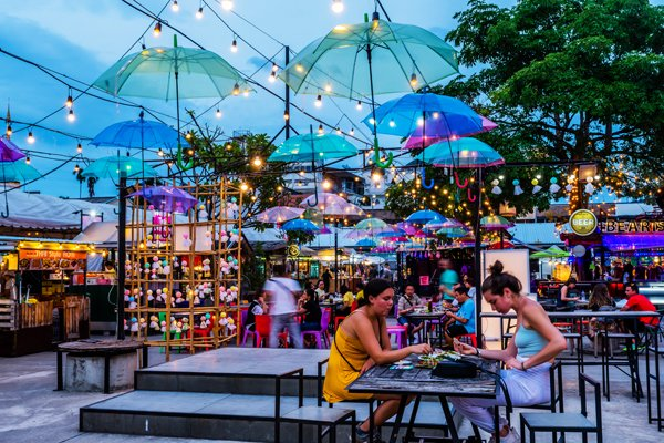 Chiang Mai's Night Bazaar