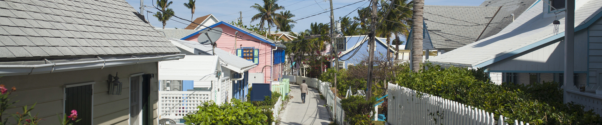 Hopetown in Elbow Cay, Bahamas