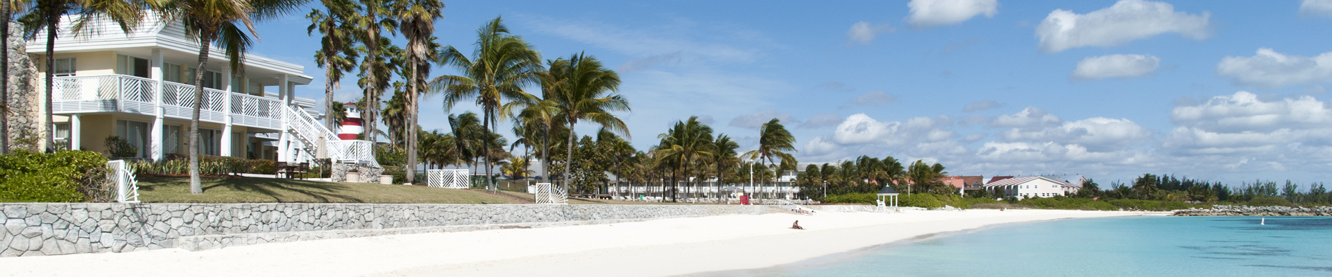 Lucaya Beach in Freeport, Bahamas
