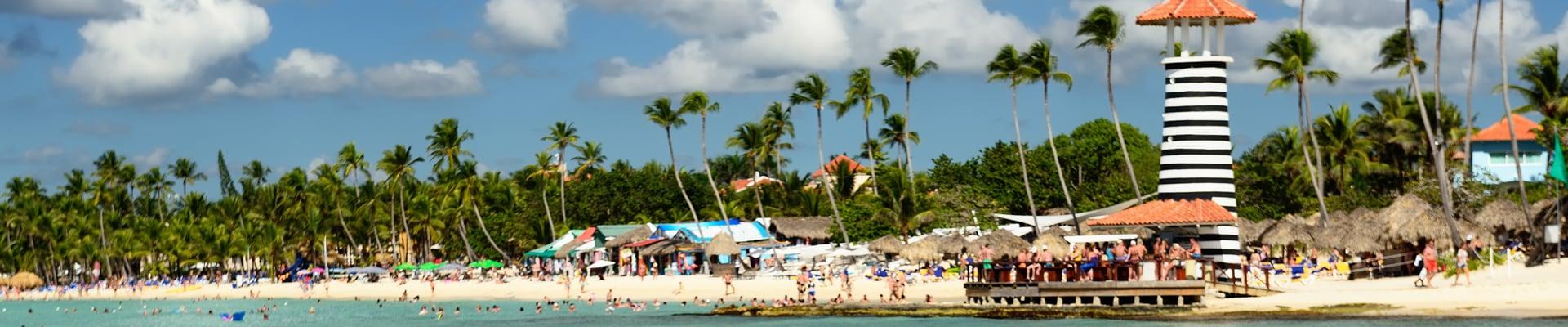 Dominicus Beach in Dominican Republic