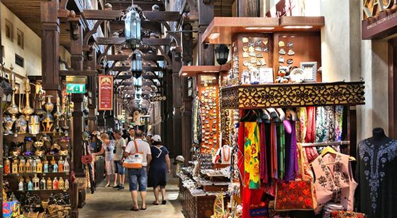 Souk Madinat Jumeirah in Dubai