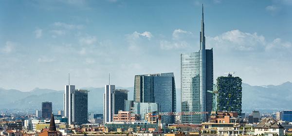 Milan, Italy Skyline