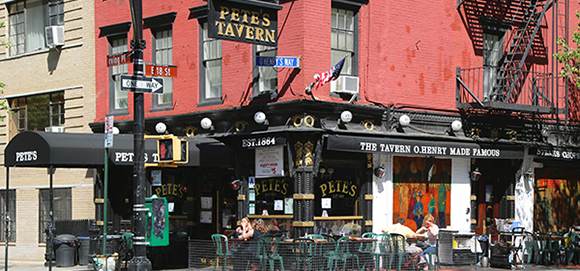 Pete's Tavern in Gramercy Park
