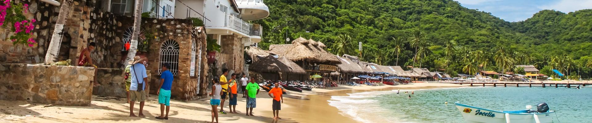 Playa las Animas near Puerto Vallarta, Mexico