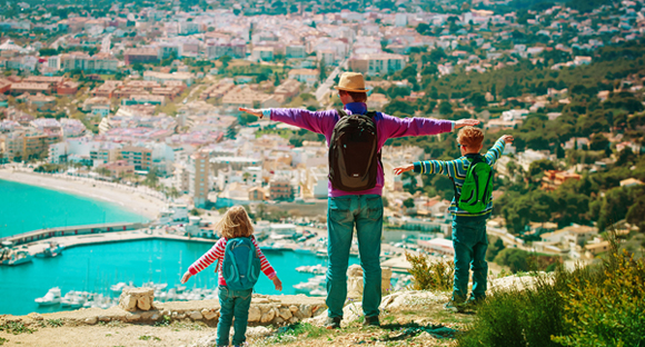 Family Hiking in Spain