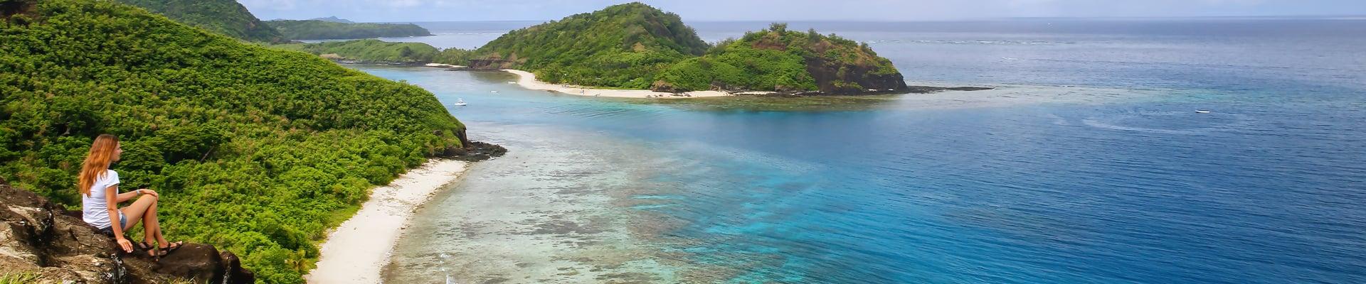 Drawaqa Island in Fiji