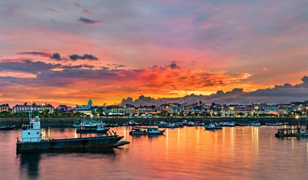 Historic Casco Viejo In Panama City, Panama