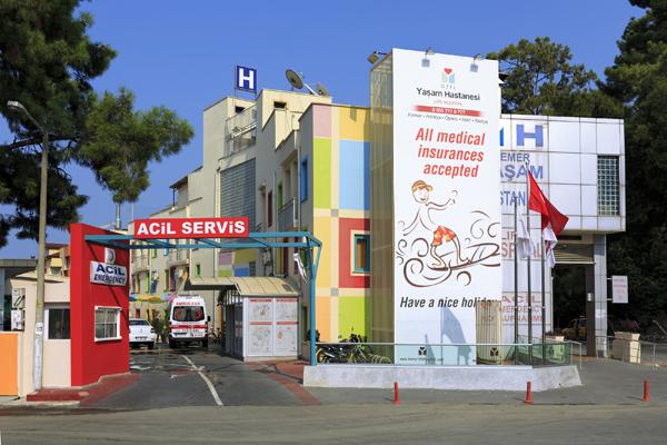 Hospital in Kemer, Turkey