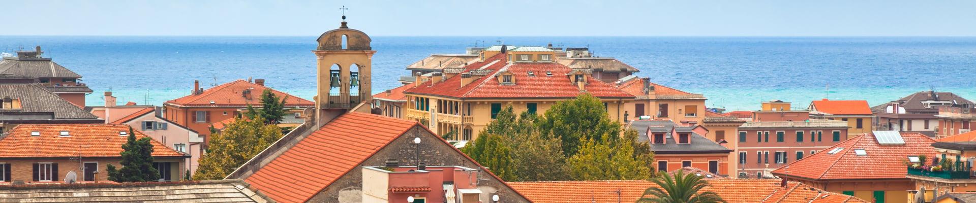 Chiavari in the Liguria Region of Italy