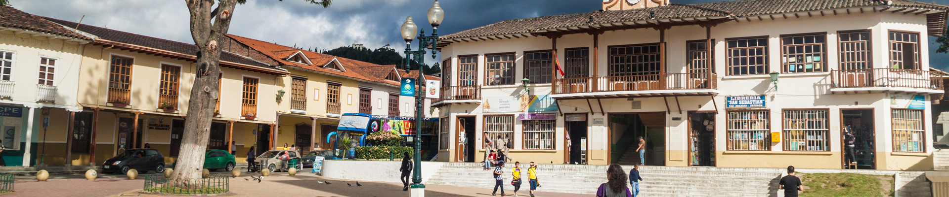 Plaza de la Independencia in Loja, Ecuador
