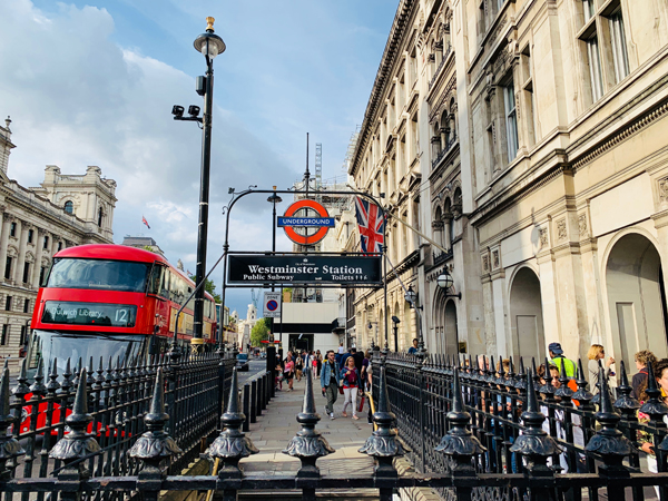 London Westminster Station