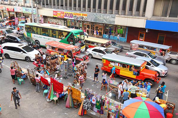 Street Vendors in Manila, Phillipines