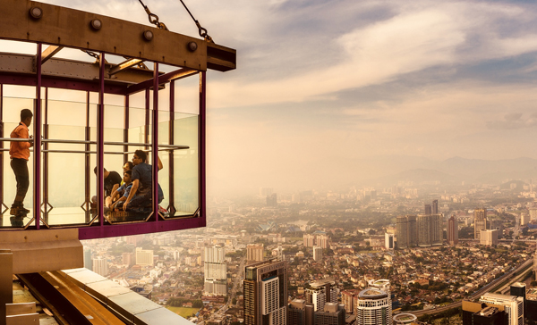 View from The Kuala Lumpur Tower