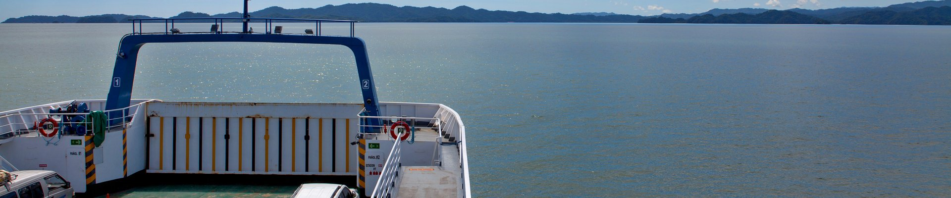Ferry from Puntarenas to Paquera, Costa Rica