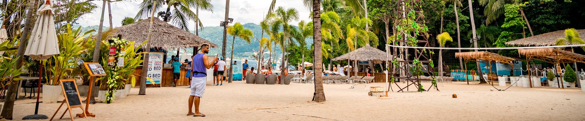 Paradise Beach in Phuket, Thailand