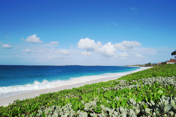 Cabbage Beach in Nassau, Bahamas