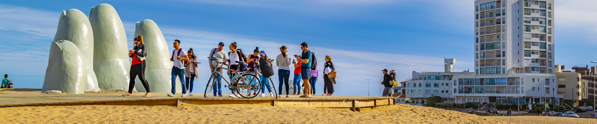 La Brava Beach in Punta del Este, Uruguay