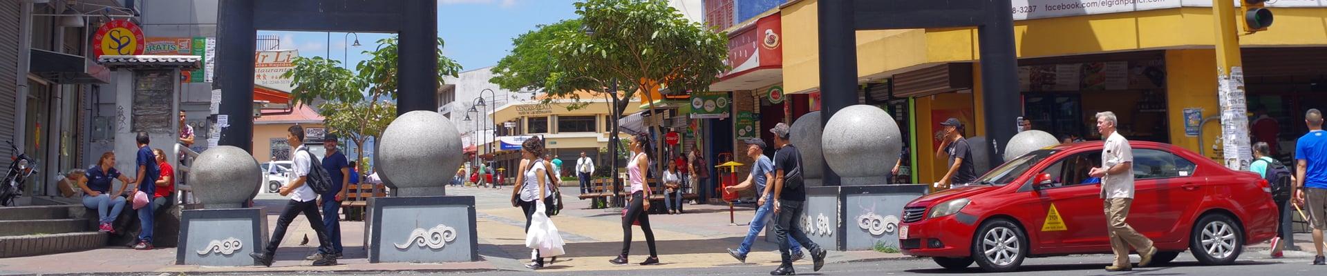 Chinatown in San Jose, Costa Rica