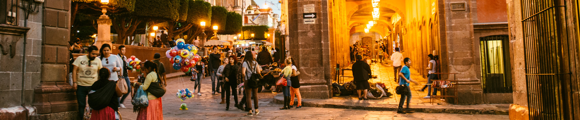 Eveningtime in San Miguel de Allende, Mexico