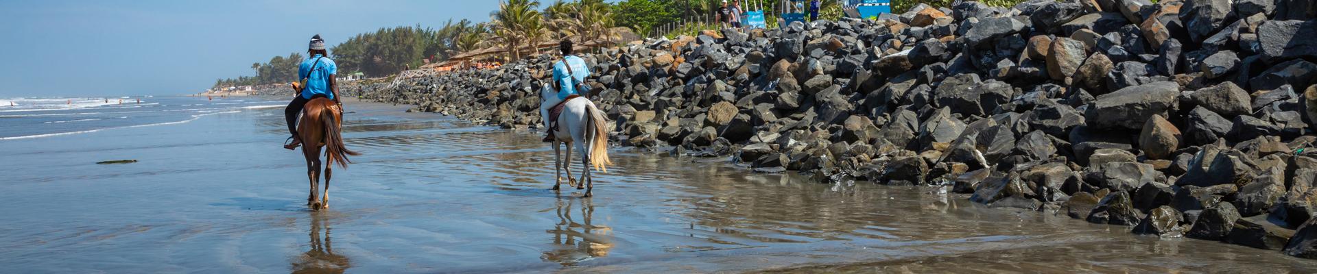 Serrekunda in The Gambia