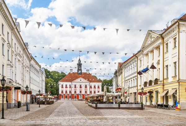 City Center Tartu, Estonia