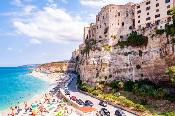 Tropea in Calabria Region Italy