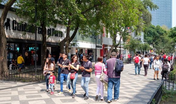 Zona Rosa Mexico City